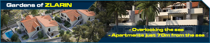 Gardens of Zlarin - apartments just 70m from the sea